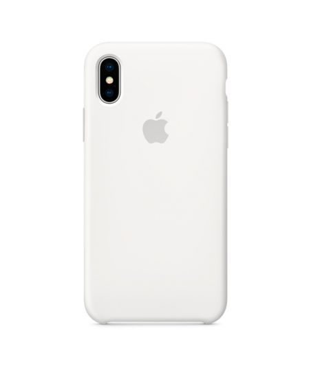 Чехол для iPhone Apple iPhone X Silicone Case White